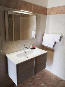 A bathroom at Hotel Grotticelli
