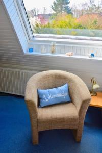 A seating area at Gaestehaus Kiekmolrin