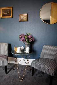 Area tempat duduk di La bohème - Chambres d'hôtes