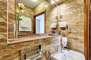 Ванная комната в Гостиница Регина