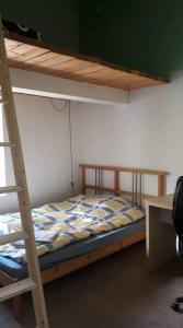 Posteľ alebo postele v izbe v ubytovaní Accommodation center Kosice-Alžbetina near the hockey arena
