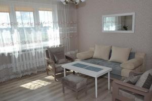 A seating area at Korolevskaya Gora Apartment