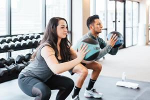 The fitness center and/or fitness facilities at Warwick Denver