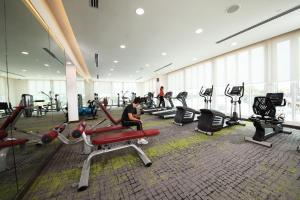 Фитнес-центр и/или тренажеры в Capri by Fraser Johor Bahru
