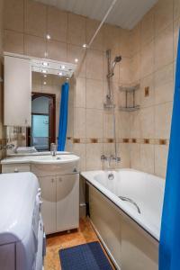 A bathroom at 24 Khamovnicheskiy Val Ulitsa