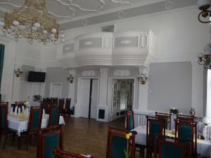 Restauracja lub miejsce do jedzenia w obiekcie Hotel Wkra