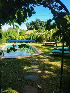 The swimming pool at or close to Kamunjila Lodge