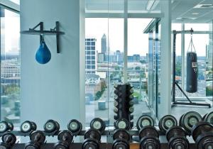 The fitness center and/or fitness facilities at W Atlanta Downtown