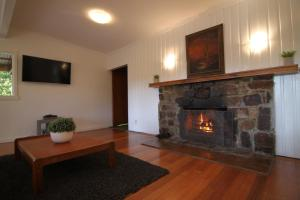 A television and/or entertainment center at Sunny Corner Lake Eildon