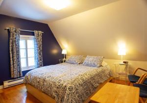 Un ou plusieurs lits dans un hébergement de l'établissement Auberge La Marmite