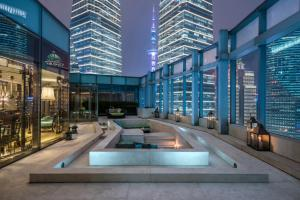The swimming pool at or near IFC Residence