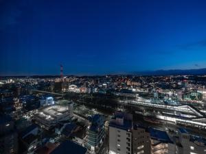 A bird's-eye view of Keio Plaza Hotel Hachioji
