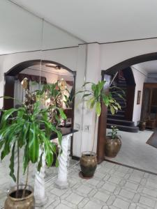 The lobby or reception area at Hotel Alcázar
