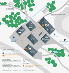 Grundriss der Unterkunft Hotel Hofgut Sternen