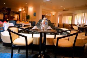 مطعم أو مكان آخر لتناول الطعام في Cleopatra Hotel