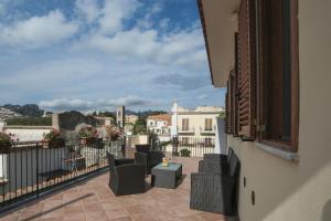 A balcony or terrace at Casa Vacanze Vittoria