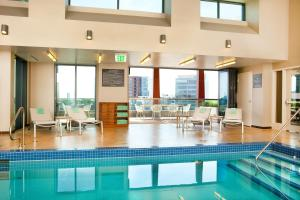 The swimming pool at or near Residence Inn by Marriott Boston Back Bay/Fenway