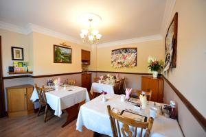 A restaurant or other place to eat at Corrigans Shore House