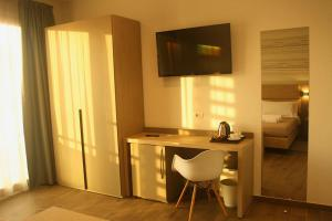 A television and/or entertainment center at International Hotel Dakar