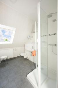 Ванная комната в Ferienhotel Bernstein
