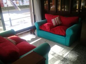 Un lugar para sentarse en Hotel Alfil Express