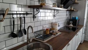 Una cocina o zona de cocina en La Posada de Dulcinea
