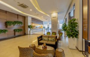 The lobby or reception area at Swandor Cam Ranh Resort-Ultra All Inclusive