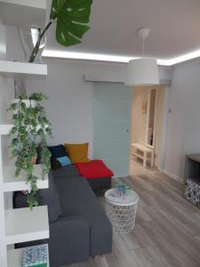 Posezení v ubytování Super Punkt Żabianka /Sopot