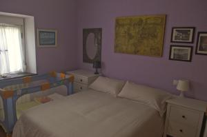 Cama o camas de una habitación en La Casina de Luarca
