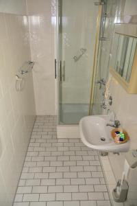 A bathroom at Hotel Wilhelmshöhe