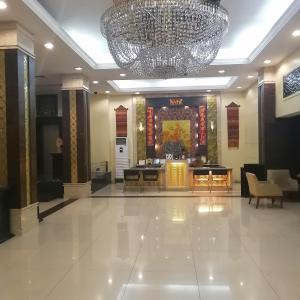 The lobby or reception area at Casa Boutique Hotel