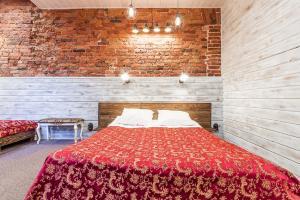 Кровать или кровати в номере Hotel Alliance