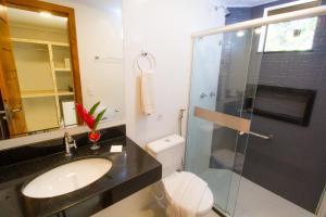 A bathroom at Portal Ville - Rede Soberano