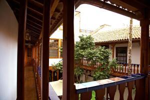 A balcony or terrace at Hotel Emblemático San Agustin