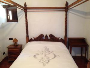 Cama o camas de una habitación en Casa Rural La Llar de Laura