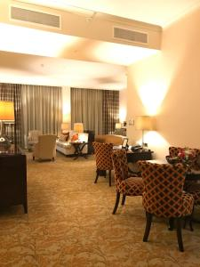 A seating area at Taj HotelApart, Taj Hotel Cape Town