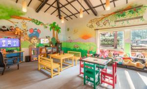 The kid's club at Taj Holiday Village Resort & Spa, Goa