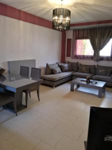 A seating area at Naiades Villas