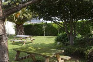 Jardín al aire libre en Hotel Rural As Laguas