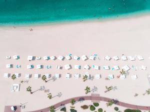 A bird's-eye view of Nikki Beach Resort & Spa Dubai