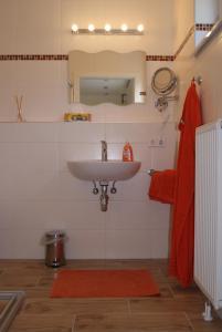 Ein Badezimmer in der Unterkunft Privatzimmer Mitterbacher
