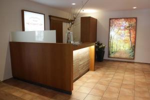 The lobby or reception area at Landgasthaus Hotel Eggert