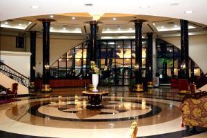 منطقة الاستقبال أو اللوبي في Green Desert Hotel