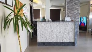 O saguão ou recepção de Zain Tabuk Apartment