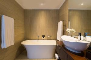 Een badkamer bij Pepperclub Hotel