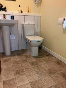 A bathroom at Castle Gait, Paisley