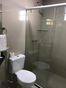 A bathroom at Hotel Italia Beach