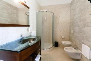 A bathroom at Su Soi