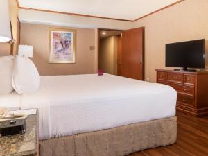 Ein Bett oder Betten in einem Zimmer der Unterkunft Crowne Plaza Hotel Monterrey, an IHG Hotel