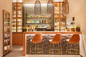 The lounge or bar area at Protur Naisa Palma Hotel